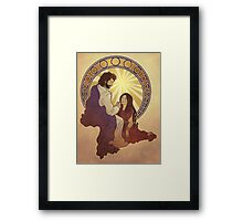 Mary Has Chosen What Is Better Framed Print