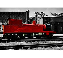 The little red engine Photographic Print