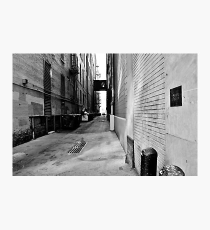 B&W Denver Alley Photographic Print