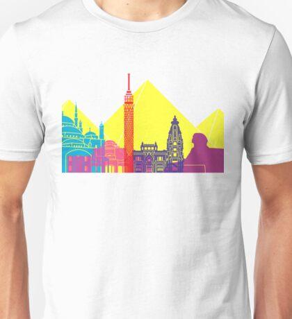 Cairo skyline pop Unisex T-Shirt