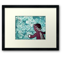 Breaking Bad Pink Teddy Framed Print
