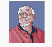 Old Man Cartoon by ElliotSty