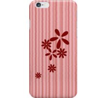 Flowers and stripes iphone case iPhone Case/Skin