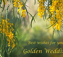 Golden wedding acacia  by Jennie  Stock