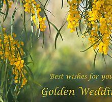 Golden wedding acacia  by Jennie  Stock