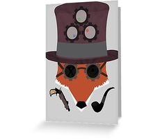 The Fox and the Lad Greeting Card