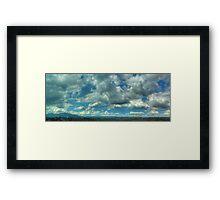©HCS Cumulus Mediocris and Cumulus Humilis I Framed Print