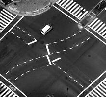 Tokyo Intersection by Shannon Friel