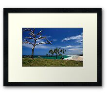 Dreamtime Beach Framed Print