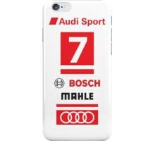 Audi R18 e-tron #7 LeMans Tribute iPhone Case/Skin