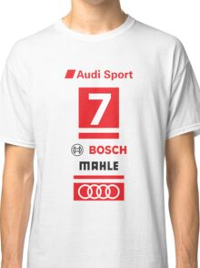 Audi R18 e-tron #7 LeMans Tribute Classic T-Shirt