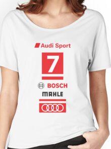 Audi R18 e-tron #7 LeMans Tribute Women's Relaxed Fit T-Shirt