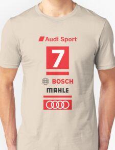 Audi R18 e-tron #7 LeMans Tribute T-Shirt