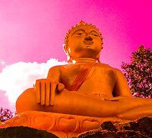 Golden Buddha by KerryPurnell