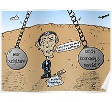 Boulets de démolition fiscale balancer vers OBAMA Poster