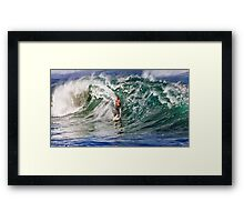 The Art Of Surfing In Hawaii 12 Framed Print