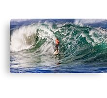 The Art Of Surfing In Hawaii 12 Canvas Print