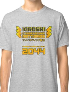 Kiroshi Cybertechnic Batteries - Yellow/Orange Classic T-Shirt