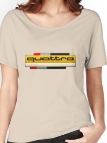 Audi Quattro Tribute Women's Relaxed Fit T-Shirt