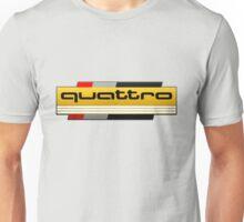 Audi Quattro Tribute Unisex T-Shirt