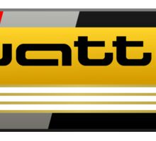 Audi Quattro Tribute Sticker