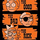 The Good Morty, The Bad Morty, and the Rick by Haragos