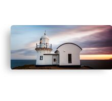Lighthouse Sunset , Tacking Point Canvas Print