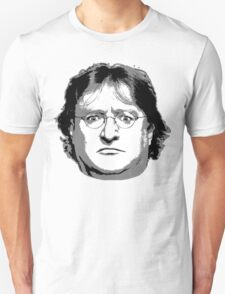 GabeN - Black and White T-Shirt