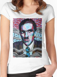 Ron Mael is awesome Women's Fitted Scoop T-Shirt
