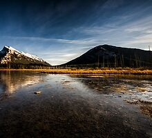 Vermilion Lakes, Banff by Jai Honeybrook