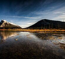 Vermilion Lakes, Banff by Jai Honeybrook