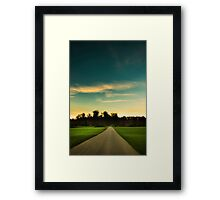 Country Road, Kent England Framed Print