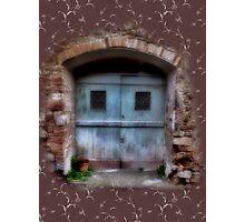 Character Doors Photographic Print