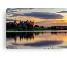 Linlithgow Palace at Sunset - West Lothian Canvas Print