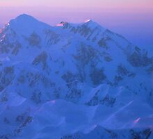 Denali Alpenglow by Caren della Cioppa