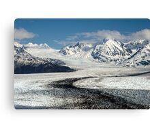 Knik Glacier Canvas Print