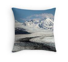Knik Glacier Throw Pillow