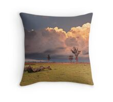Mount Tarampa Throw Pillow
