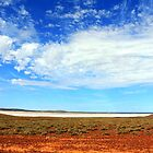 Salt Lake South Australia by Hannah Nicholas