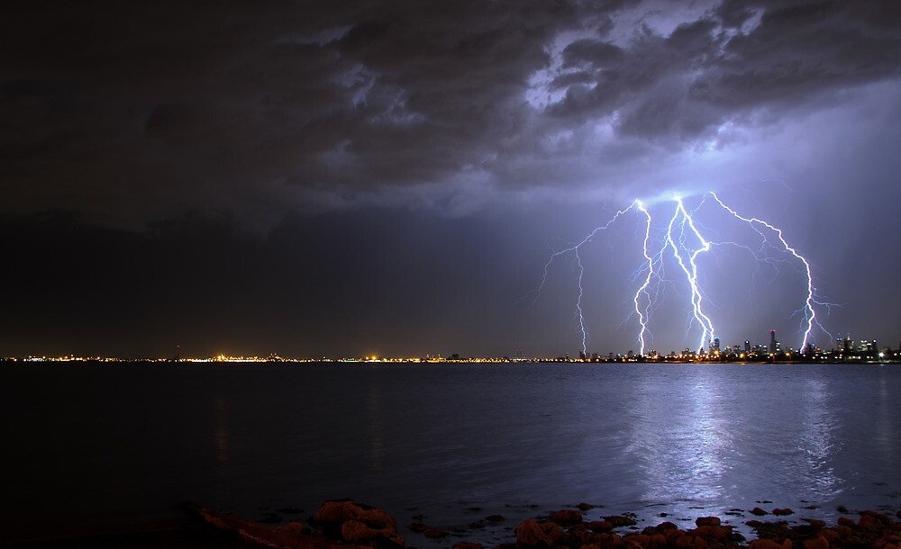 Electric Melbourne by wolfcat