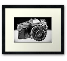 Old School Camera Framed Print