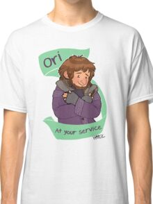 Cardigan Dwarf at Your Service Classic T-Shirt