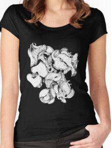 Wattle fruits 1 Women's Fitted Scoop T-Shirt