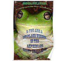 Amphibians Banner Challenge Poster