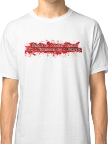 Ignore my browser history! I'm a Gamemaster not a murderer Classic T-Shirt