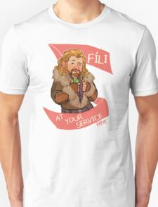 Fíli at Your Service T-Shirt