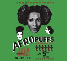 afro puff power by bangbangflip