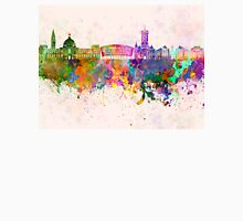 Cardiff skyline in watercolor background Unisex T-Shirt