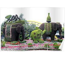 Topiary, Hangzhou, Zhejiang Poster