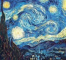 Vincent van Gogh, STARRY NIGHT by fine-art-prints